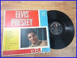ELVIS PRESLEY same rare cover lpm 1254 RCA 60' lp COLOMBIA press look jup