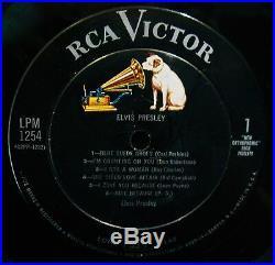 ELVIS PRESLEY (self titled) Original 1956 Album-RCA VICTOR #LPM 1254 Rockabilly