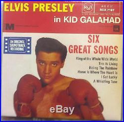 ELVIS PRESLEY the ep collection e. P. 11x 7 Book Mint- EP-1 Vinyl 1981 UK RCX