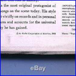 Elvis Presleyfirst Album (lpm-1254)ultra-rare'56 Rca Mono Lprock Classicnm