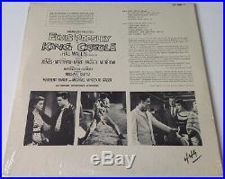 ELVIS PRESLEYKING CREOLE SEALED 1964 RCA Victor Rock LP Record Album