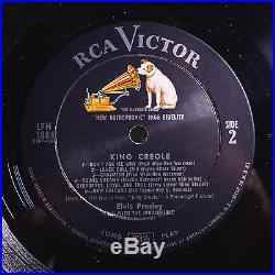 ELVIS PRESLEYKING CREOLEINSANELY RARE ORIG'57 RCA MONO LP withBONUS PHOTOMINT