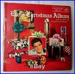 ELVIS PRESLEYMEGA RARE 1957 CHRISTMAS COVER LPWIDE SIZERCA LOC 1035