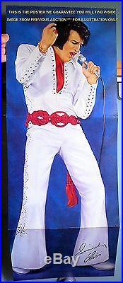 ELVIS PRESLEYWORLDWIDE 50 GOLD #2RARE SEALED ORIG'71 4-LP MONO BOX withGARMENT