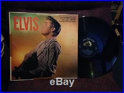 ELVIS Presley LPM 1382 orignal AD back Banded label LP cover VG LP EX few minor