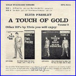 EX (GSS) Elvis Presley A Touch of Gold, Volume 3 RCA Victor EPA-5141 1960 Rock