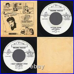 (EX PROMO) Elvis Presley Mystery Train/I Forgot to Remember RCA Victor 47-6357
