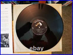 EXCELLENT ORIGINAL 1958 Elvis Presley KING CREOLE LPM-1884 with bonus PHOTO