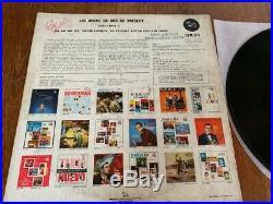 Elvis ARGENTINA 100,000,000 DE ADMIRADORES 1962 Lp! Gold Records 2 DISCOS DE ORO