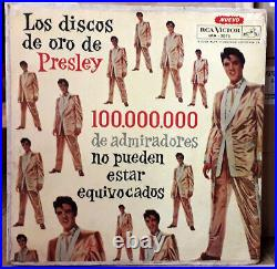 Elvis ARGENTINA 100,000,000 LPM-2075 ULTRA RARE BACKCOVER Check Yours COVER ONLY
