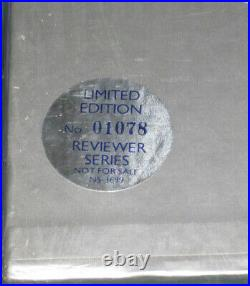 Elvis Aron Presley Box Set PROMO Reviewer Series SEALED Low #01078 MINT 1980