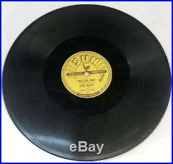 Elvis Blue Moon Of Kentucky/Thats All Right 209 Sun 10 LP 78 RPM Record
