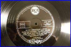 Elvis Christmas Album, Elvis Presley, 1957 RCA LOC 1035-C Germany Rare