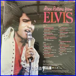Elvis Collectors FTD Set LOVE LETTERS FROM ELVIS 2 LP SET 12 Vinyl