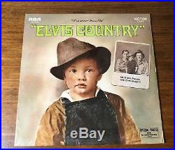 Elvis Country Original First Press With Sticker Still Factory Sealed 1971