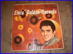 Elvis' Golden Records 1958 Vinyl Lp Album, Elvis Presley, Gorgeous Condition