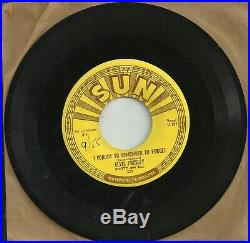 Elvis, I Fogot to remember to Forget/Mystery Train, Sun 223, Almost Mint