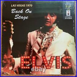 Elvis, Las Vegas 1970, Back On Stage, 5lp/3cd Box Set #'ed, Ltd Ed Colored Vinyl