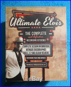 Elvis PRESLEY Complete & Definitive Recording Sessions 3 Books 9788299855075