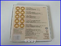 Elvis PRESLEY Sun Singles very early press, numbered 7 yellow vinyl box set NM