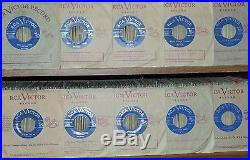 Elvis Presley 10 Rare Original 1957 Canadian only Light blue Label 45' Mint-