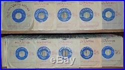 Elvis Presley 10 Rare Original 1957 Canadian only Light blue Label 45' Mint-