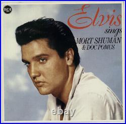 Elvis Presley 12 LP Sings Mort Shuman & Doc Pomus Musterplatte / Testpressing