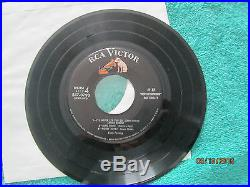 Elvis Presley 1254 45 EP 6 Songs Most Talked About New Personality- PROMO ONLY