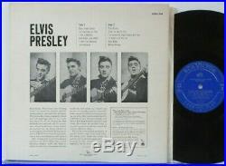 Elvis Presley 1254 Original First Canadian Pressing Light Blue Label Mint. Lp