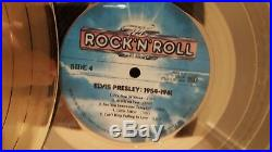 Elvis Presley 1954-1961 24 kt Gold Plated Records Limited Edition 19/250 withCOA