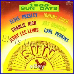 Elvis Presley 1955 Sun Days Rare Original LP Cover Slick