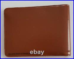 Elvis Presley 1956 Brown Wallet EPE Elvis & Record In Center