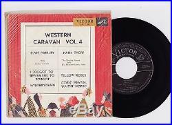 Elvis Presley 1956 Japan Only EP WESTERN CARAVAN, VOL. 4 EP-1146 Japanese