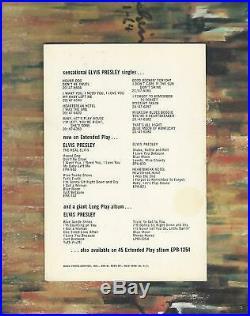 Elvis Presley 1956 Promo Bonus Photo Debut 1st Record Album RCA 1254 RARE NICE