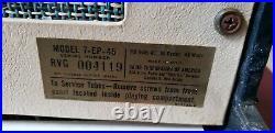 Elvis Presley 1956 RCA Victor Model 7-EP-45 Record Player Rare Version