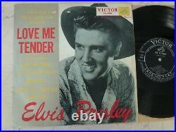 Elvis Presley 1957 Japan Only 10inch LP LOVE ME TENDER Japanese