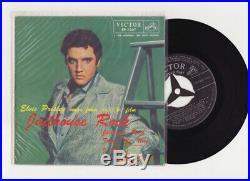 Elvis Presley 1957 Japan Only EP JAILHOUSE ROCK EP-1267 Japanese a