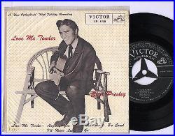 Elvis Presley 1957 Japan Only EP LOVE ME TENDER superb EP-1198 Japanese 2