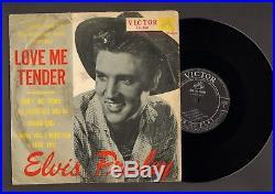 Elvis Presley 1957 Japan only 10' inch LP LOVE ME TENDER Japanese