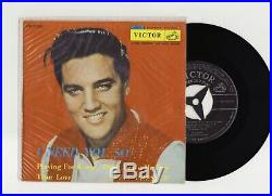 Elvis Presley 1958 Japan Only EP I NEED YOU SO EP-1336 Japanese