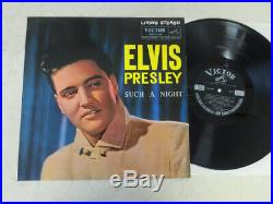 Elvis Presley 1963 Japan Only STEREO Mint LP SUCH A NIGHT Japanese