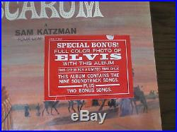 Elvis Presley 1965 Sealed LP HARUM SCARUM Sticker RCA Bonus Photo LSP-3468