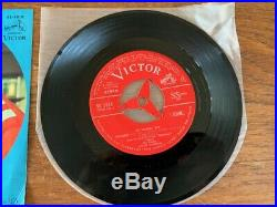 Elvis Presley 1968 Japan SPEEDWAY EP- RARE RED LABEL Japanese EP- MINT VICTOR SS