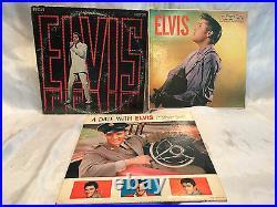 Elvis Presley 1968 Sound Tracks 1956 Self Titled 1960 A Date With Elvis Vinyls