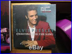 Elvis Presley 2 FTD Books FASHION & WRITING FOR A/THE KING with2 CD's