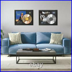 Elvis Presley #3 Framed wood Reproduction Signature LP Record Display. M4