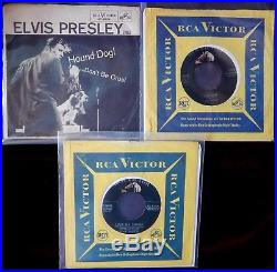 Elvis Presley 31 Record Lot-45's & Ep's-all Original-vg+ To Nm-shake-rattle Roll