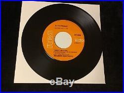 Elvis Presley 45 Jailhouse Rock/treat Me Nic Rare Orange Lbl Gold Standard Nm++