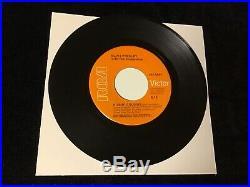 Elvis Presley 45 Kissin Cousins 447-0644 Mega Rare Orange Lbl Gold Std. Nm++