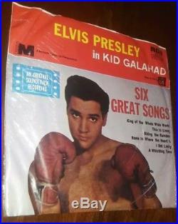 Elvis Presley 45 Record album vinyl 7 7 inch EP SEALED Kid Galahad